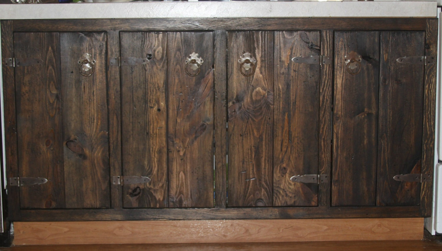 Medieval Rustic Custom Cabinets Face Frames And Doors Only