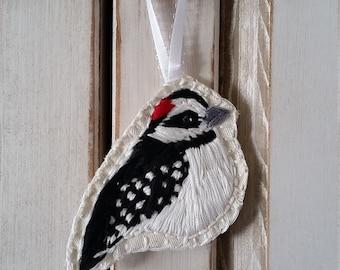 Downy Woodpecker ornament