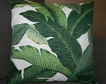 7 Sizes Available - Tommy Bahama Swaying Palms Aloe Pillow Cover