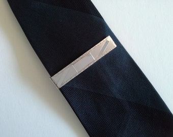 Vintage Sterling Silver Tie Bar.