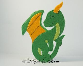 The dragon felt Zolotorog(Goldenhorn)