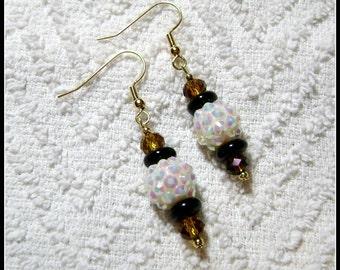 Disco Ball Earrings - Disco Dangle Earrings - Earrings - Jewelry - Bright Colors - E-170