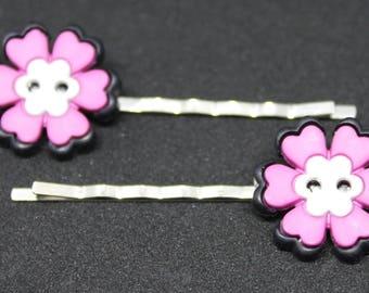 Flower Bobby Pin, Flower Hair Pin, Flower Hair Clip, Cute Hair Clip, Hair Accessories, Floral Bobby Pin, Floral Hair Clip, Hair Adornments