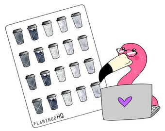 Coffee-  Planner Stickers - Neutral