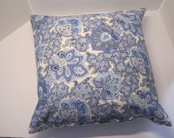 Decorative Pillow Cover in shades of BLUE