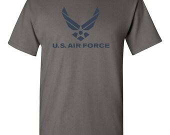 US Air Force Logo American Military USAF Men's Tee Shirt 1659