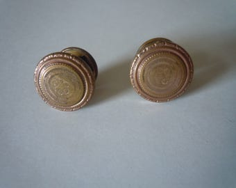 Attractive Pair of Victorian Waistcoat Buttons