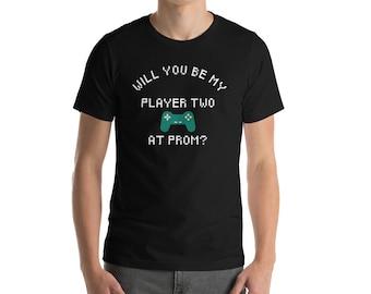 Unique Promposal tshirt, Gamer prom