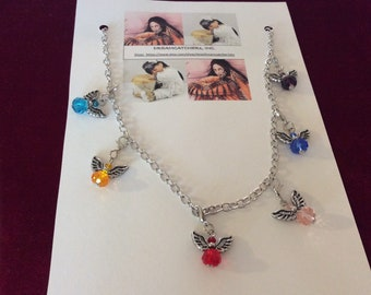Angels by My Side Necklace