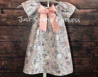 Girls Dresses, Toddler Dress, Girls Easter Dress, Girls Spring Dress, Baby Easter Dress, Girls Floral Dress, Girls Fall Outfit, Girls Fall