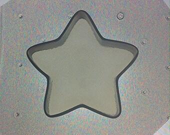 "Flexible Resin Mold 2"" Star Pendant"