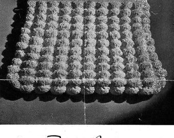 Vintage Crocheted Shell Bag Purse PDF Pattern