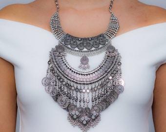 Antique Indian Necklace - Modhvadia Jewellery