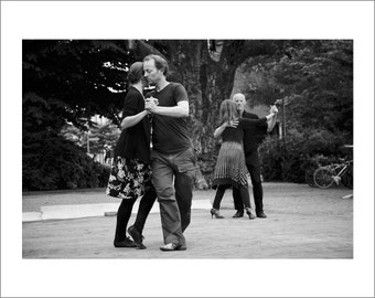 Tango In The Park - Black and White Photo Print - Art Photography (SW20)
