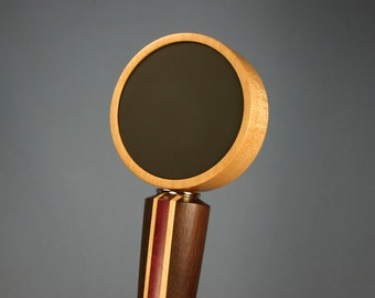 Chalkboard Beer Tap Handle - Made to Order from Solid Peruvian Walnut, Rock Maple and Purpleheart