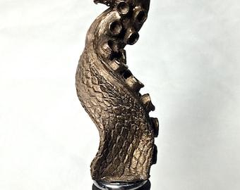Tentacle Winestopper, bronze finish