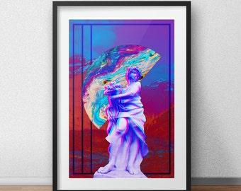 Vaporwave Aesthetic Print #9 (See item description)