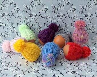 Easter knitting pattern easter egg hat knitting pattern set easter egg hats knitted egg cozy egg cosy egg warmer knit easter egg cosy easter negle Gallery