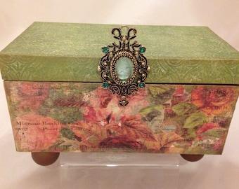 Seceret Garden Decorative Box  READY TO SHIP!