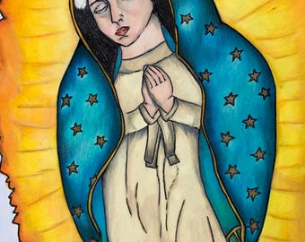 Virgin Mary. Virgen de Guadalupe.