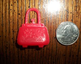 Vintage Hong Kong Barbie Style Doll Handbag/Purse **