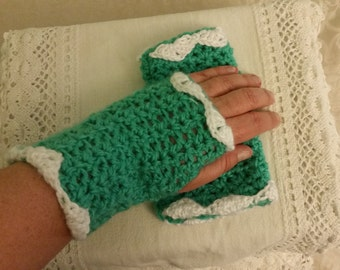 Crochet Fingerless Gloves, Fingerless Gloves, Crochet Gloves, Wrist Warmers