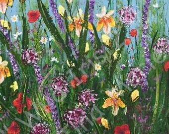 Wild Iris 2 - Giclee Print