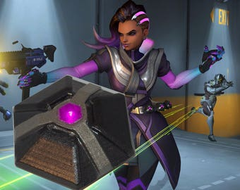 Overwatch Sombra Cosplay - Grenade LED Kit costume prop video game gift