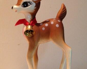 Vintage Hong Kong Bambi Christmas Deer