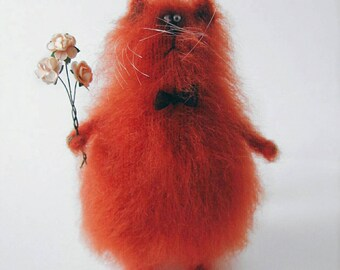 Sweet fluffy cat