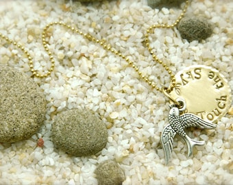SALE! Bird Touch the Sky Necklace
