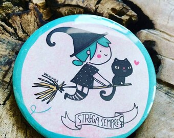Round pin shows. Witch ever!