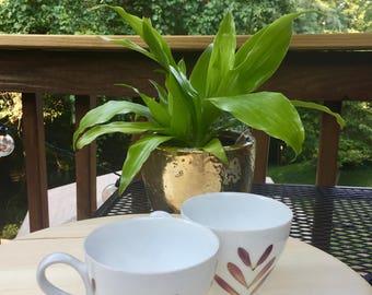 Petal Press Tea Cups