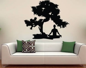 Meditation Zen wall decal