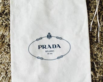 PRADA Shoe bag, Storage bag, Dust bag Size: 34x21 cm
