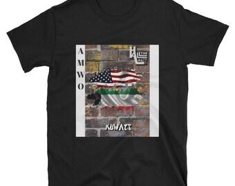 AMWO T-shirt - USA/Kuwait