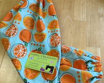 The *Happy Andi* Hanging Grocery Bag Holder Oranges, Fruit, Citrus