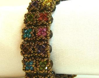"""Swarovski crystal-embellished bracelet -- 7-1/2"""""""
