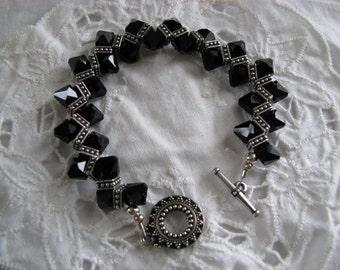 Austrian Swarovski crystal bracelet ~ size 7 1/2