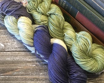 The Wind in the Willows Set - Jane Hand Dyed Yarn