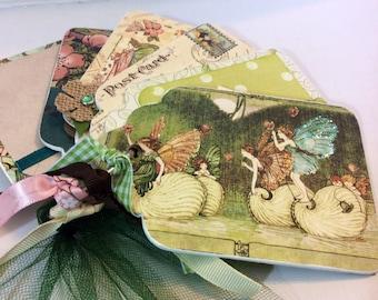 once upon a springtime mini album fairies graphic 45 dream scrapbook