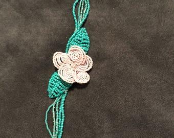 Matte Pink Flower