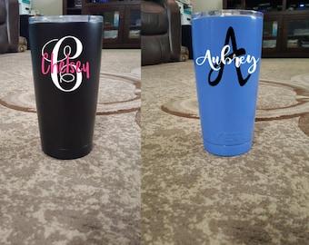 YETI 20 oz Tumbler, Personalized YETI cup, Custom Yeti Tumbler, Yeti Insulated Cup, Personalized Tumbler, Personalized Gifts, Yeti Cup, Yeti