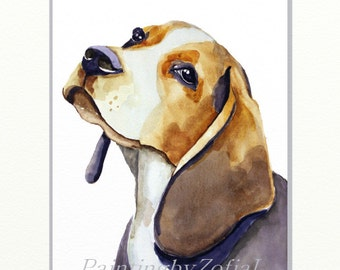 CUSTOM PET PORTRAIT watercolor custom dog portrait, pet portrait, portrait commission, portrait from photo Christmas gifts