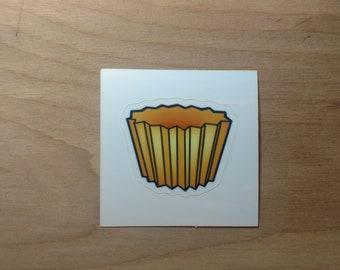 Cup Cake Base Sticker