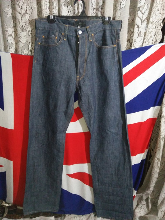 Yohji Straight Yamamoto Casual Men Jeans Authentic 34 YS Leg Size PdqwxnSB