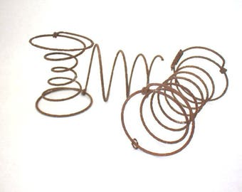 Old Bed Springs for Crafts