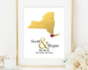 Wedding Guest Book Alternative Canvas, Custom Wedding Map, Gold Wedding Guest Book Alternative, Gold Wedding Guestbook, Canvas Guestbook