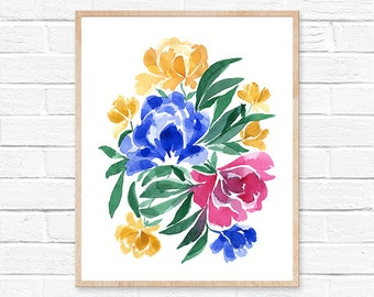 floral watercolor watercolor flowers watercolor print watercolor watercolor floral watercolor flower watercolor painting floral print floral