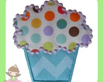 Cupcake Applique design